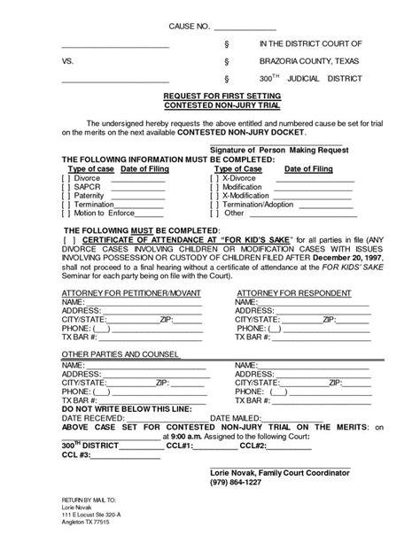 printable divorce documents form generic divorce