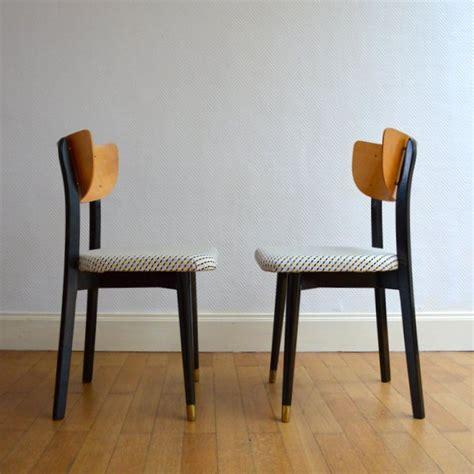 chaises ées 50 deux belles chaises 233 es 50