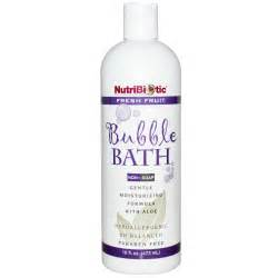 bubble soap for bathtub nutribiotic bubble bath non soap fresh fruit 16 fl oz 473 ml iherb com