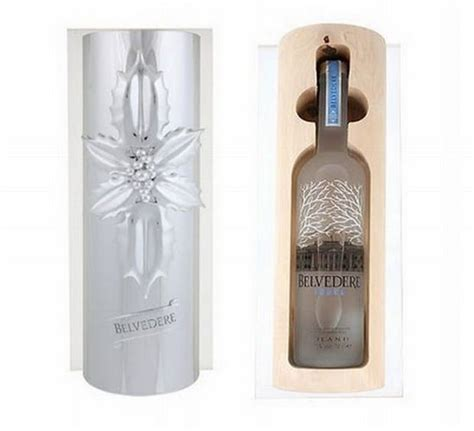 limited edition belvedere vodka christmas gift pack