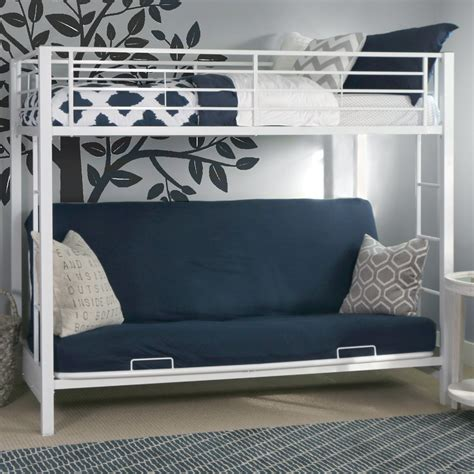 bunk bed with trundle and desk bunk bed with futon and trundle