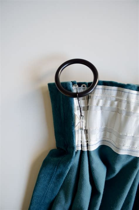 how to use drapery hooks how to triple pinch pleat curtains with ikea hardware