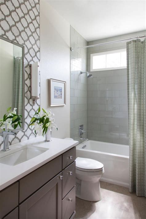 this small guest bathroom packs in a lot of style with a