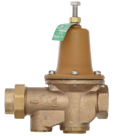 Fpt Plumbing by Watts 1 In Lead Free Brass Fpt X Fpt Water Pressure