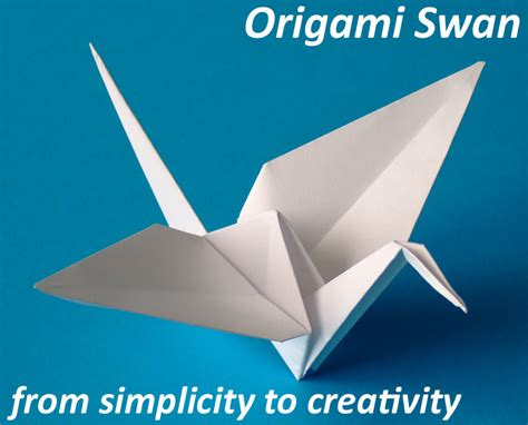 Paper Swan - how to make a origami swan car interior design