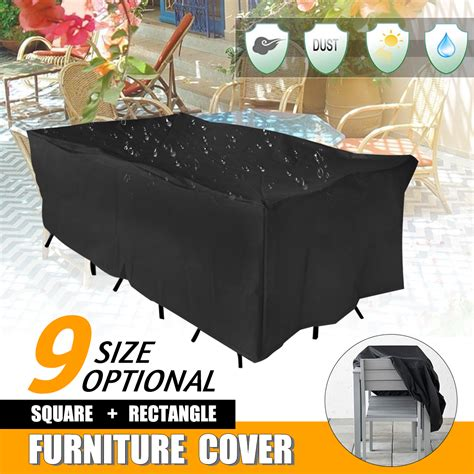 sizes waterproof heavy duty furniture cover outdoor