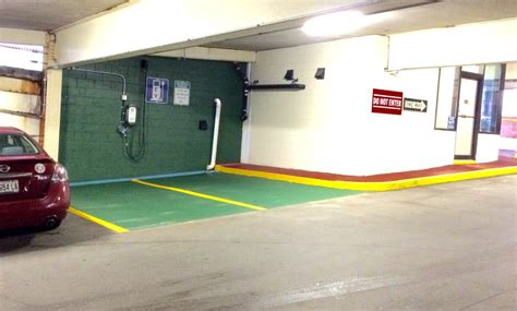 Casco Bay Parking Garage by Temple Parking Garage Charge Station Mhr