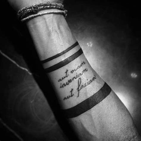 tattoo quotes for mens forearm 40 forearm quote tattoos for men worded design ideas