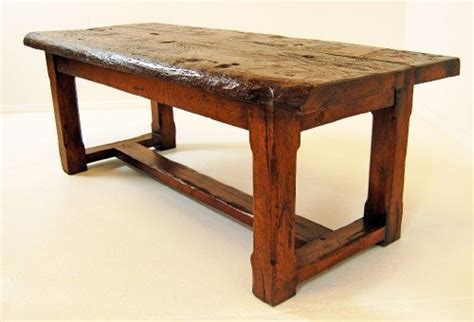 antique country elm table coffee kitchen rustic c1800