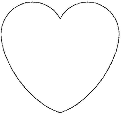 imagenes de corazones moldes corazones para imprimir y recortar imagui