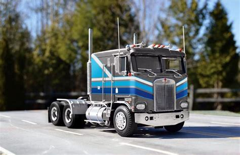 kenworth a model parts revell 1 25 kenworth k 100 cab over engine semi truck