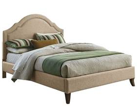 Upholstered Platform Bed Standard Furniture Simplicity Cathedral Upholstered Platform Bed In Linen Beyond Stores