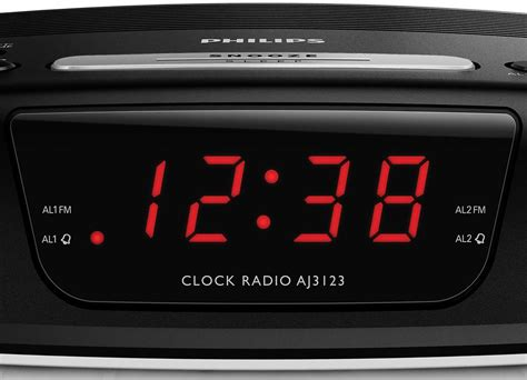 Elektronik Radio Philips Aj 3123 philips aj3123 digital tuning clock radio up screen