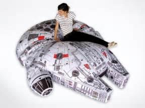 Giant Pillow Chair Star Wars Millennium Falcon Bean Bag Gadgetsin