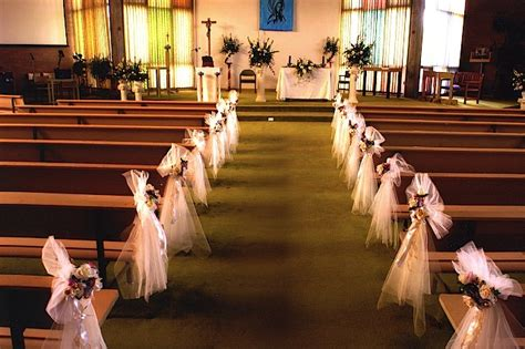 Dekoration Hochzeit Kirche by Church Wedding Decoration Ideas Ideas