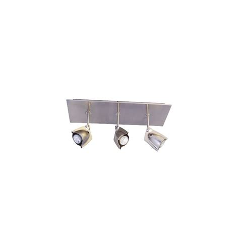 Bazz Lighting Fixtures Bazz Lighting Pr4003ch Chrome Accent Series Three Light Semi Flush Ceiling Fixture Finished In