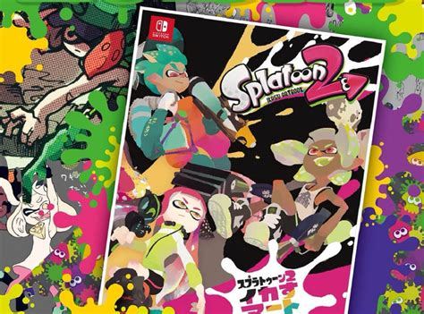 amazon opens preorders for the art of splatoon and reveals north american release date game pre orders open for japanese splatoon 2 art book 171 nintendojo