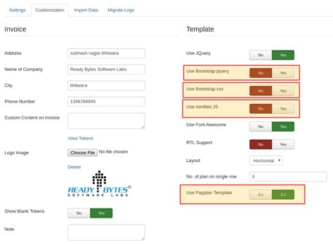 Bootstrap Themes Config Json | payplans 3 5 now has inbuilt configuration for bootstrap 3