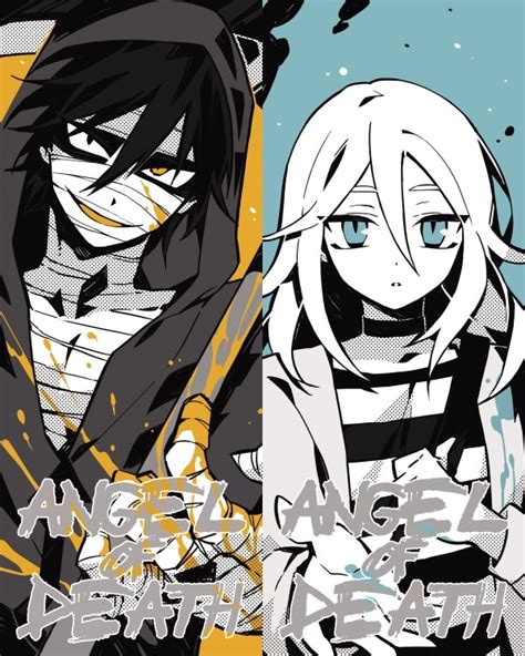 anime angel of death manga 君が笑うまで angels of death fanart ray and zack angels of
