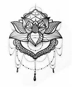 Lotus Mandala Design Lotus Flower Mandala Design