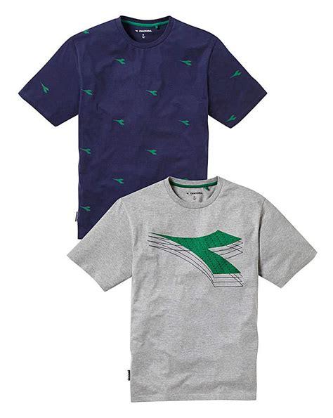 T Shirt T Shirt Diadora diadora pack of 2 t shirts