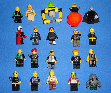 Lego Hair Combo Hair With Hat With Cap And Fur lego collection mini figs wars harry potter set bionicles 180 pounds vintagetoys
