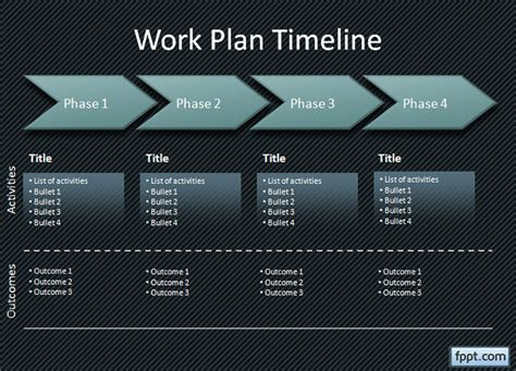 ppt project plan template 24 timeline powerpoint templates