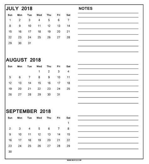 printable calendar september 2017 to august 2018 calendar august sept 2018 printable calendar 2018