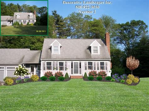 decorative plants front yard front yard landscape designs in ma decorative landscapes