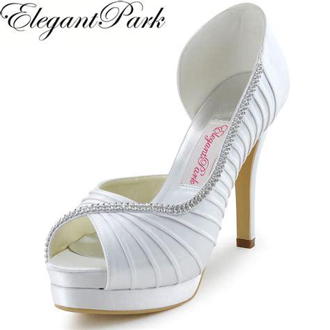 Bridal Pumps Ivory by Bridal Pumps White Ivory Platform High Heels