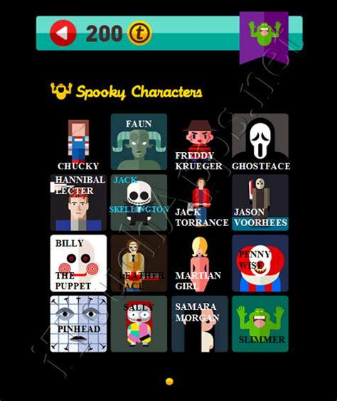 Weekend Pop Quiz by Icon Pop Quiz Weekend Specials Spooky Characters
