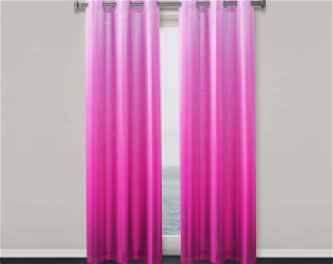 magenta curtains magenta pink curtain etsy