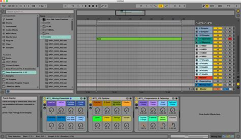8 Workflow Tips For Producers Setting Up A Quick Start Default Song Ableton Set Default Template