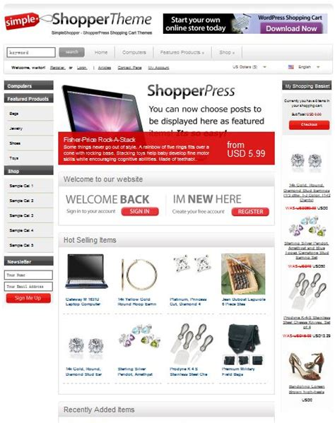 wordpress theme for store archives dobeweb