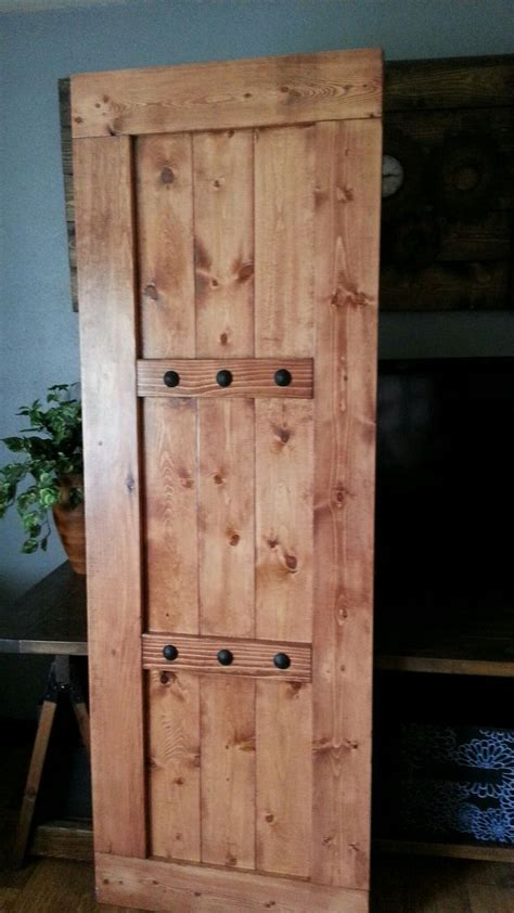 rustic barn door interior barn doors woodennailetsycom