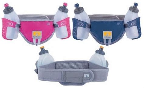 Waterproof Sports Belt With Flat Pocket Ze Wp300 nathan speed 2 waistpack with two 10 ounce nutrition flasks running waist packs