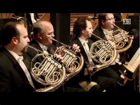 horne section rossini s semiramide overture horn section solo youtube