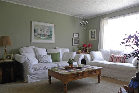 Green Paint Living Room by Gray Green Paint Living Room Centerfieldbar