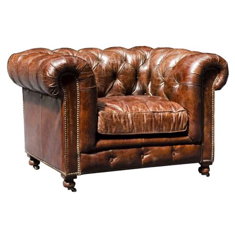 Fauteuil Chesterfield Cuir by Fauteuil Chesterfield Vintage V 233 Ritable Cuir Achat
