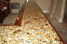 wine cork bar top wine cork bar top maybe bar pinterest