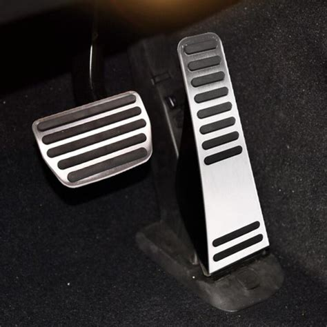 Pedal Gas Manual 1 free shipping car styling stainless steel gas pedal brake pedal modify cover for volvo xc90