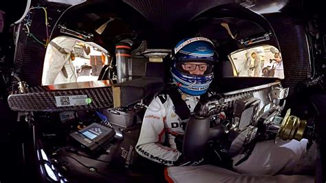 porsche 919 interior take a 360 degree lap of le mans in the porsche 919 hybrid