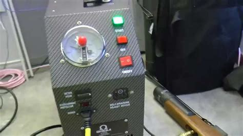 omega super charger compressor fills evanix conquest  cal pcp air rifle youtube