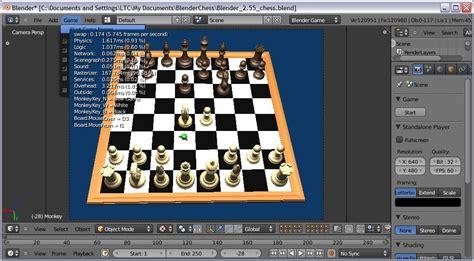 python tutorial blender game engine chessforeva blender game engine chess