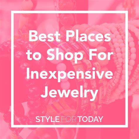 best place to buy for jewelry best places to find jewelry style guru fashion glitz