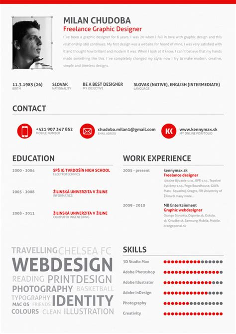 Best Resume Graphic Design by Graphic Design Resume Best Practices And 51 Examples