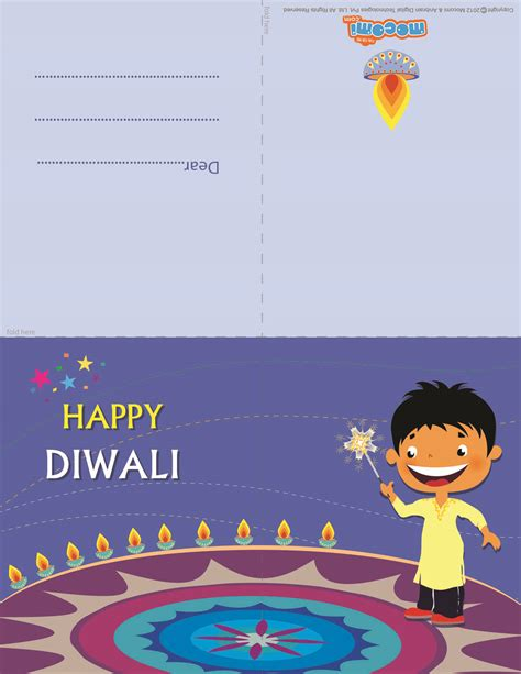 printable diwali gift cards diwali rangoli diwali greeting card for kids mocomi