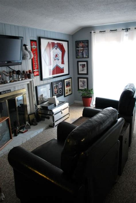sports room cave ideas
