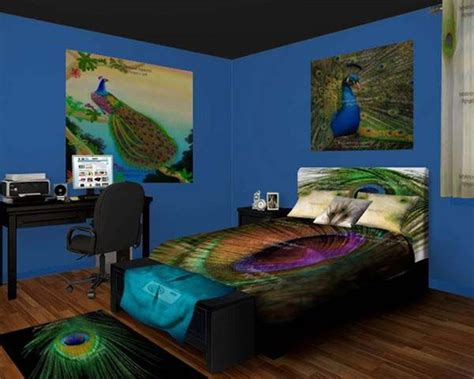 peacock bedrooms peacock bedroom peacock bedroom decor for the extravagant