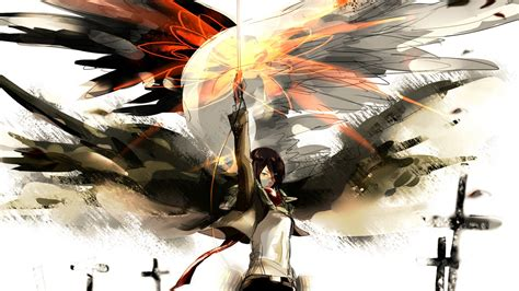shingeki no kyojin mikasa wallpaper shingeki no kyojin attack on titan